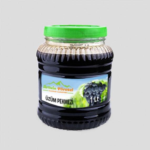 Kara Üzüm Pekmezi - % 100 Doğal - (1 Kg)